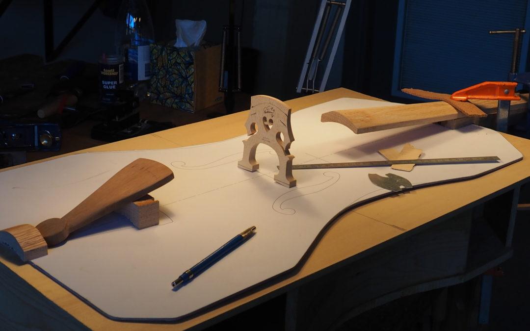 Le violoncelle «le Poilu»  à la citadelle de Québec jusqu'en février 2017